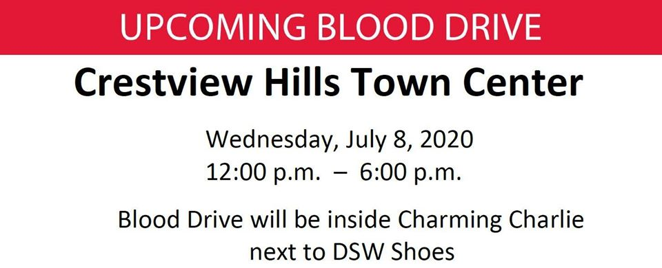 blood drive town center