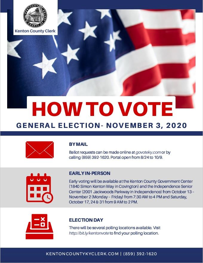 How To Vote Poster