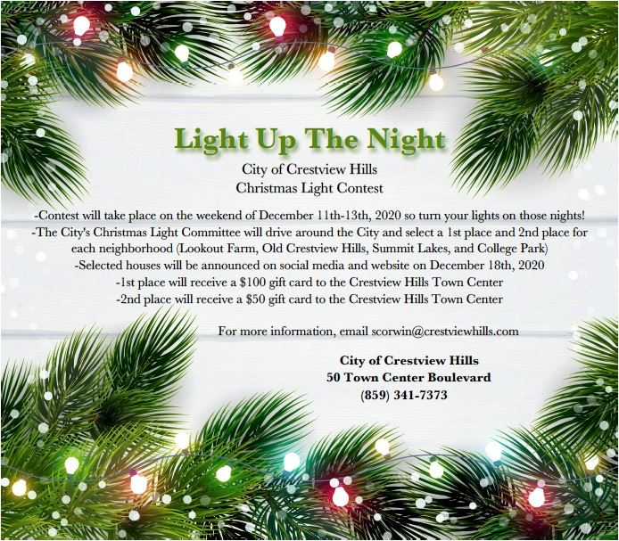 Christmas Light Contest Flyer jpeg