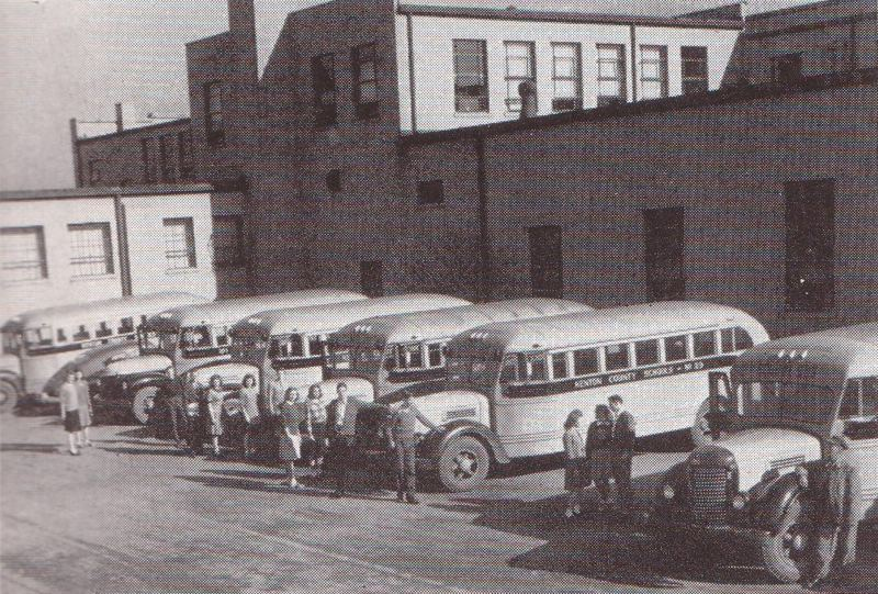 Dixie Heights School Buses late 1940s